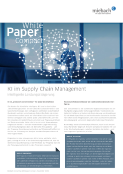 Miebach Whitepaper KI im Supply Chain Management