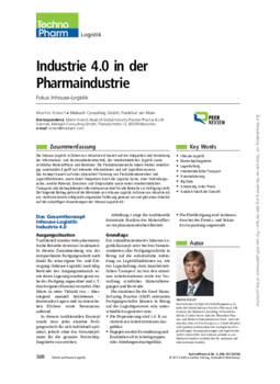 Industrie 4.0 in der Pharmaindustrie