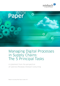 Miebach Whitepaper: Managing Digital Processes in Supply Chains