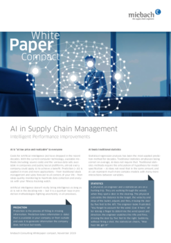 Miebach Whitepaper AI in Supply Chain Management