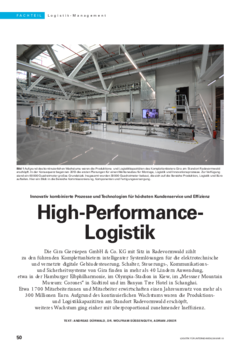 High-Performance-Logistik