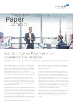 Miebach Whitepaper Compact SCM for Private Equity