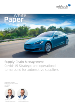 Miebach Whitepaper compact: Covid-19 Strategic and operational turnaround for automotive suppliers
