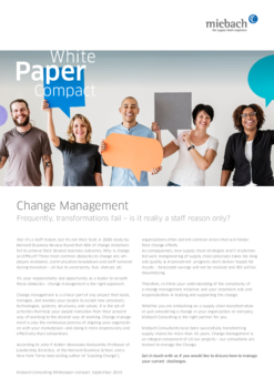 Miebach Whitepaper Compact Change Management