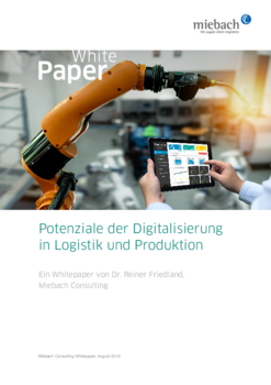 Miebach Whitepaper Potenziale der Digitalisierung in Logistik und Produktion