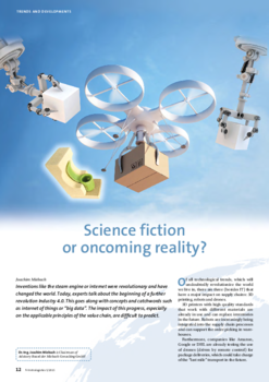 Article science fiction or oncoming reality?