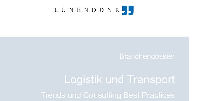 Miebach Best Practice Examples in Lünendonk Industry dossier Logistics & Transportation
