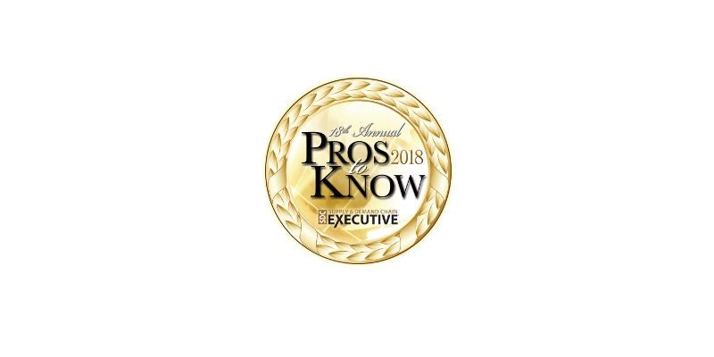 Director of Miebach USA recognized as Pro to Know by Supply and Demand Chain Executive Magazine
