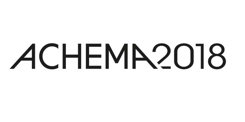 Miebach gives speech at ACHEMA 2018