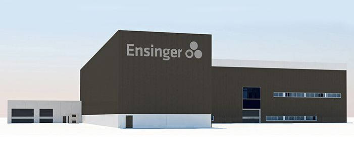 Miebach client Ensinger expands production and logistics facilities for long-term growth