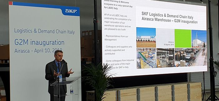 SKF implements goods-to-person picking strategy in Europe