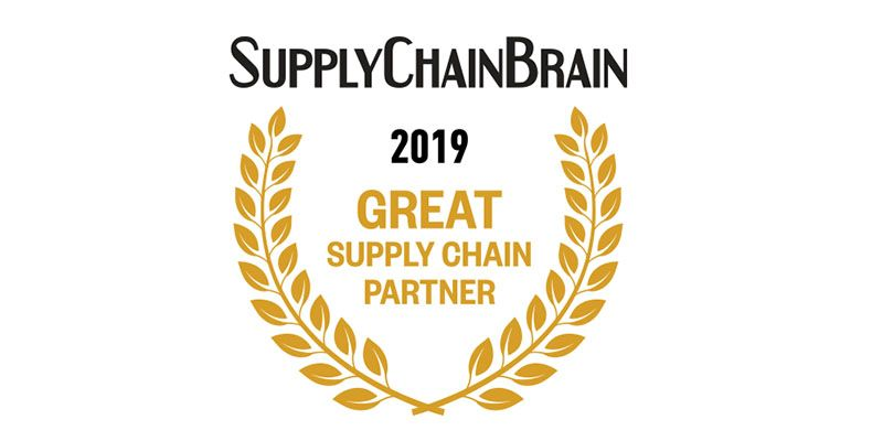 SupplyChainBrain names Miebach as Great Supply Chain Partner for 2019