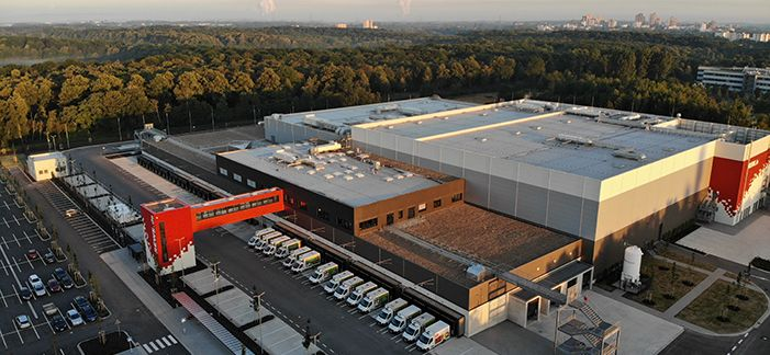 Food Fulfillment Center of REWE Group Strengthens E-Food Retailing