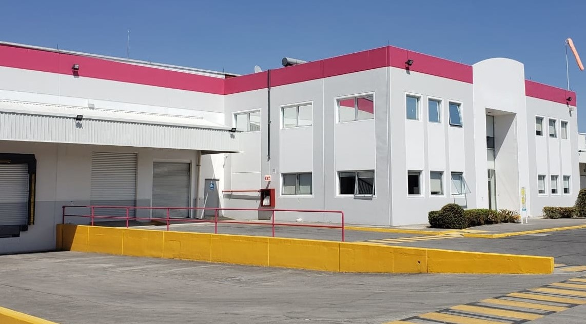 Miebach designed expansion of Merck's distribution center In Mexico