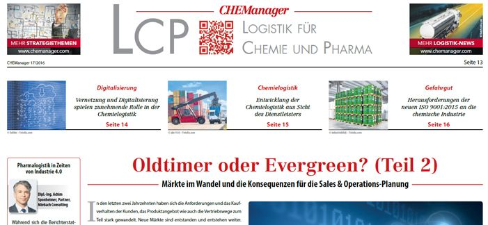 Die Pharma Supply Chain in Zeiten von Industrie 4.0