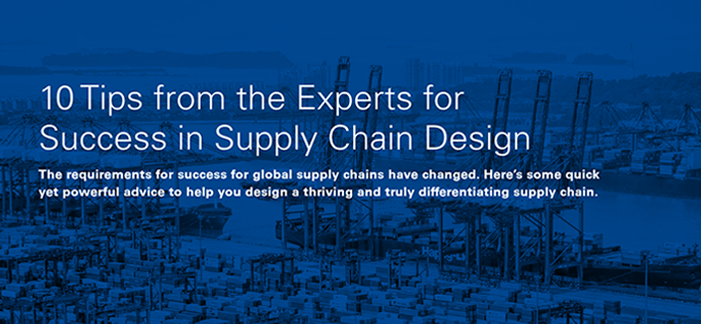 Supply Chain Design Tips E-Book