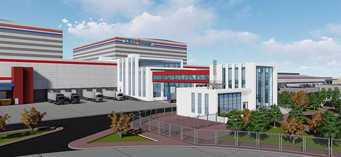 New distribution center & logistics park for Binzagr Company
