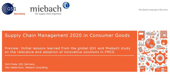 Supply Chain Management 2020 in Consumer Goods