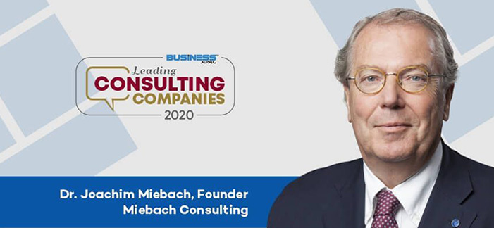 Miebach Consulting featured in the Business APAC's Leading Consulting Companies 2020 issue