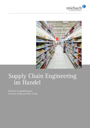 Supply Chain Engineering im Handel